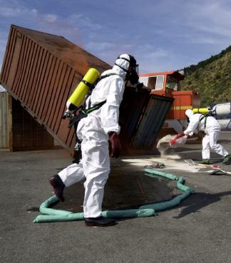Emergency Response Contingency Plan  - hazmat team