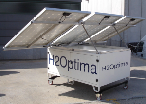 Solar Powered Water Treatment & Purification Plant Setup